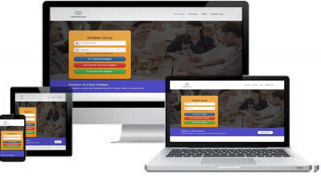 Wordpress-Canli-Sohbet-Temasi